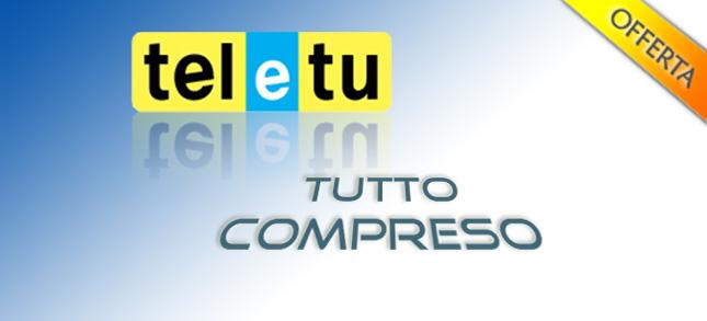 Offerta TeleTu Tutto Compreso settembre 2010