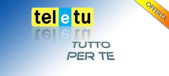 Offerta TeleTu Tutto per Te settembre 2010