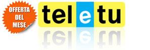 Offerte ADSL di TeleTu in promozione ad Agosto 2011