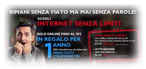 ADSL+Voce Telecom Italia: Promozione Limitata Internet Senza Limiti di Marzo 2012