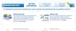 1&1 My Website: le funzioni per creare siti Internet