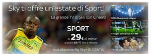 Promozione Sky TV di Giugno 2012