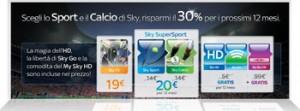 Promozione Sky TV di Luglio 2012